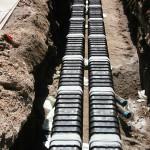 Linie energetyczne - przykład instalacji