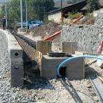 Tory kolejowe - przykład instalacji
